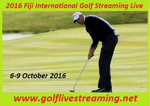 2016 Fiji International Golf Streaming Live