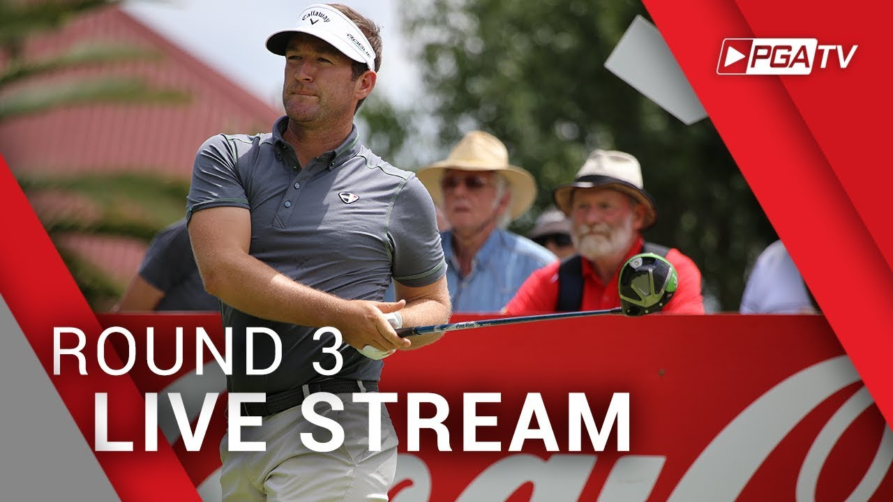 2018 Coca Cola QLD PGA Championship Round 3 Live