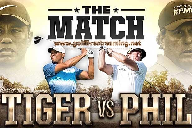 Tiger vs Phil Match 2018 Live