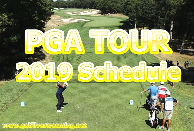golf-pga-tour-2019-schedule