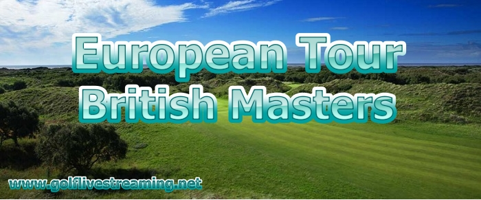 British Masters Golf Live Stream