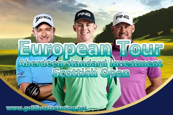 Scottish Open Golf Live Stream