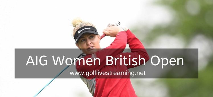 Women British Open Live Stream