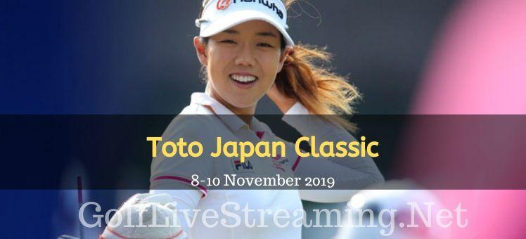 Toto Japan Classic 2018 Live Stream