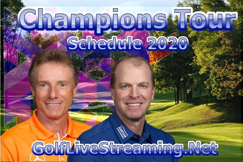 Champions Tour Golf Schedule 2020