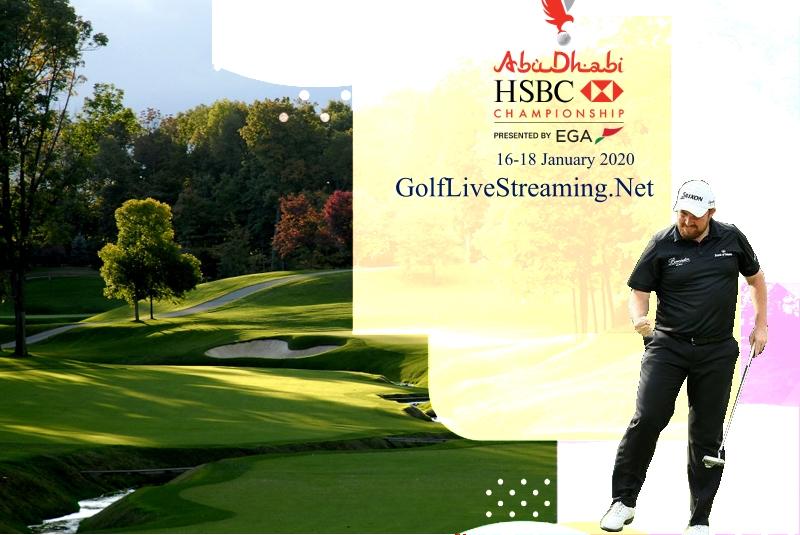 Live Abu Dhabi HSBC Championship 2018 Online