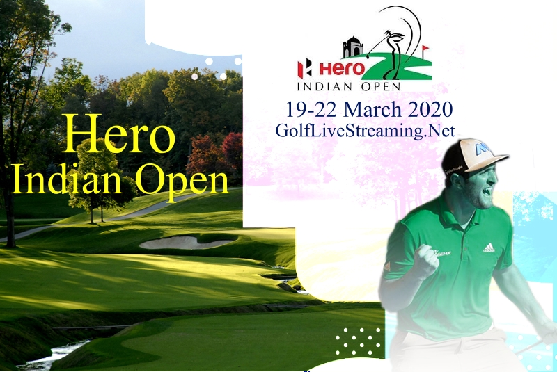 Hero Indian Open 2017 Golf Stream Live