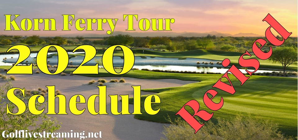 Korn Ferry Tour New Schedule of 2020 21 Combined Season