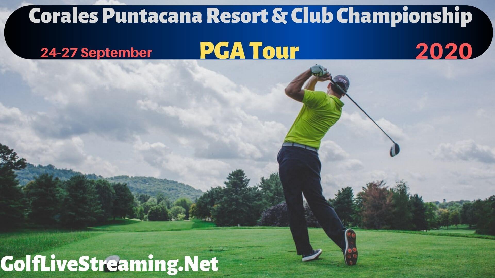 Corales Puntacana Resort & Club Championship 2018 Live