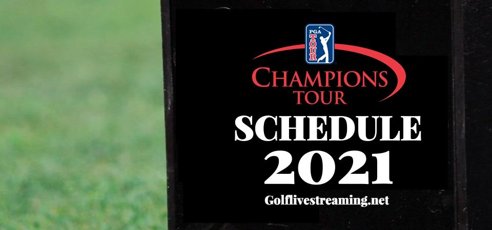 Golf Champions Tour 2021 Schedule Live Stream