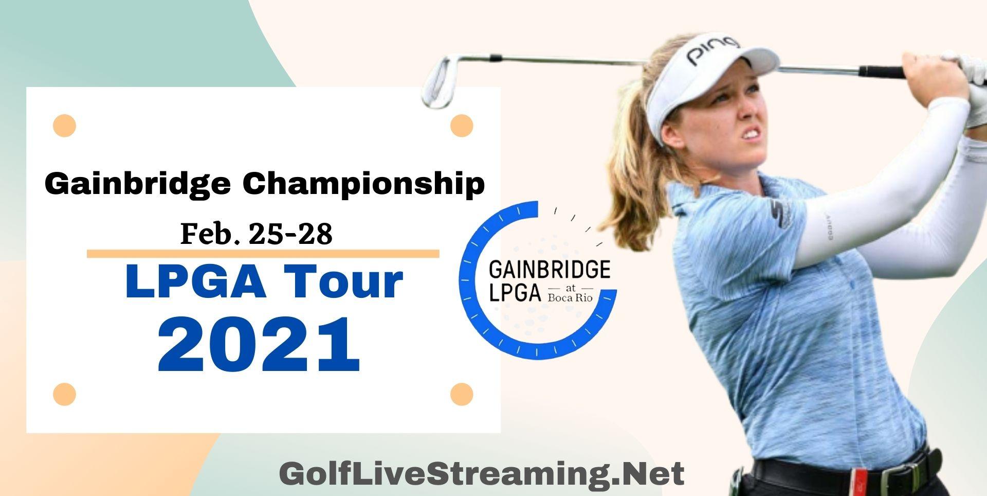 Gainbridge Championship LPGA Live Streaming