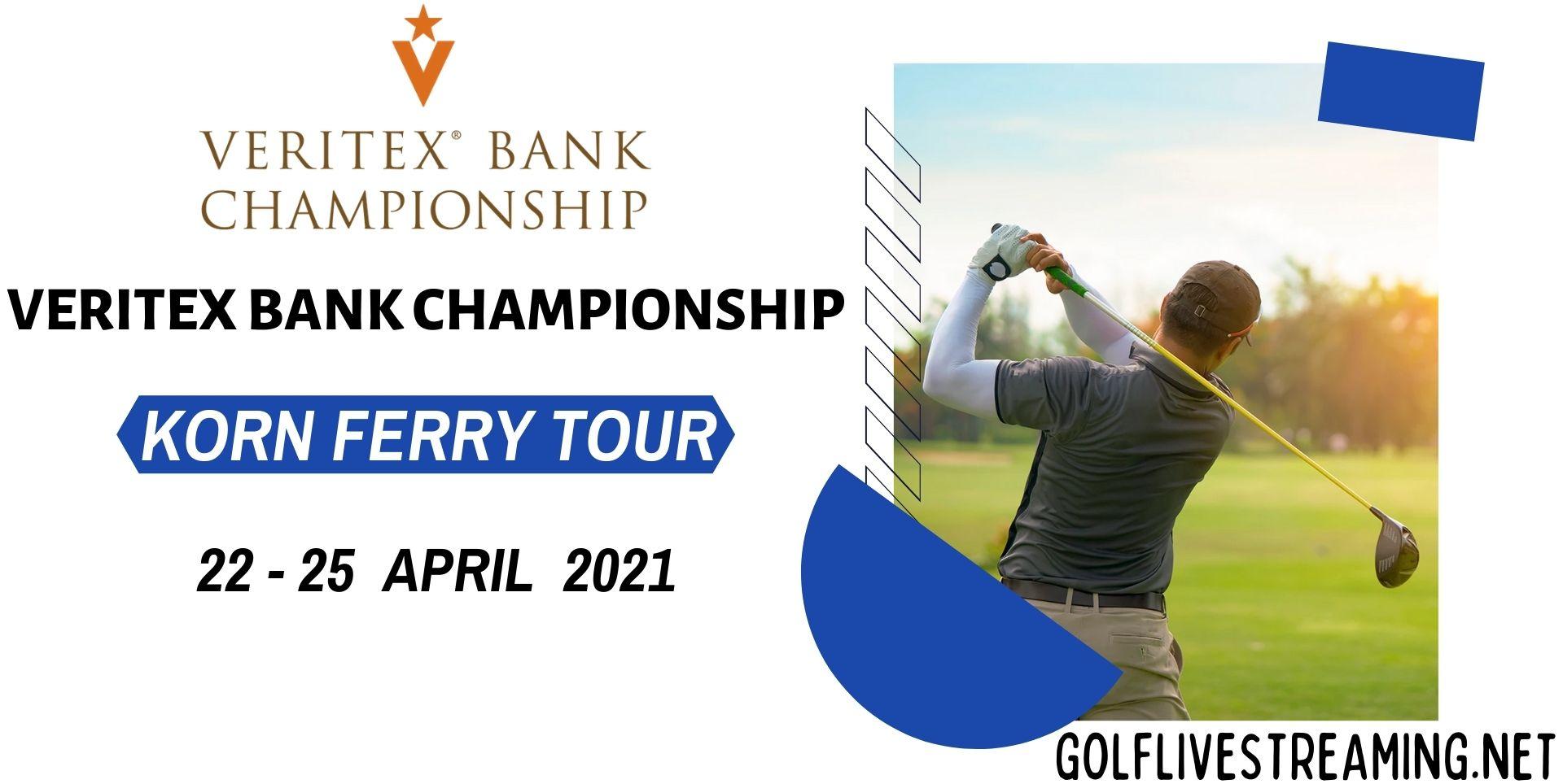 Veritex Bank Championship Golf Live Stream