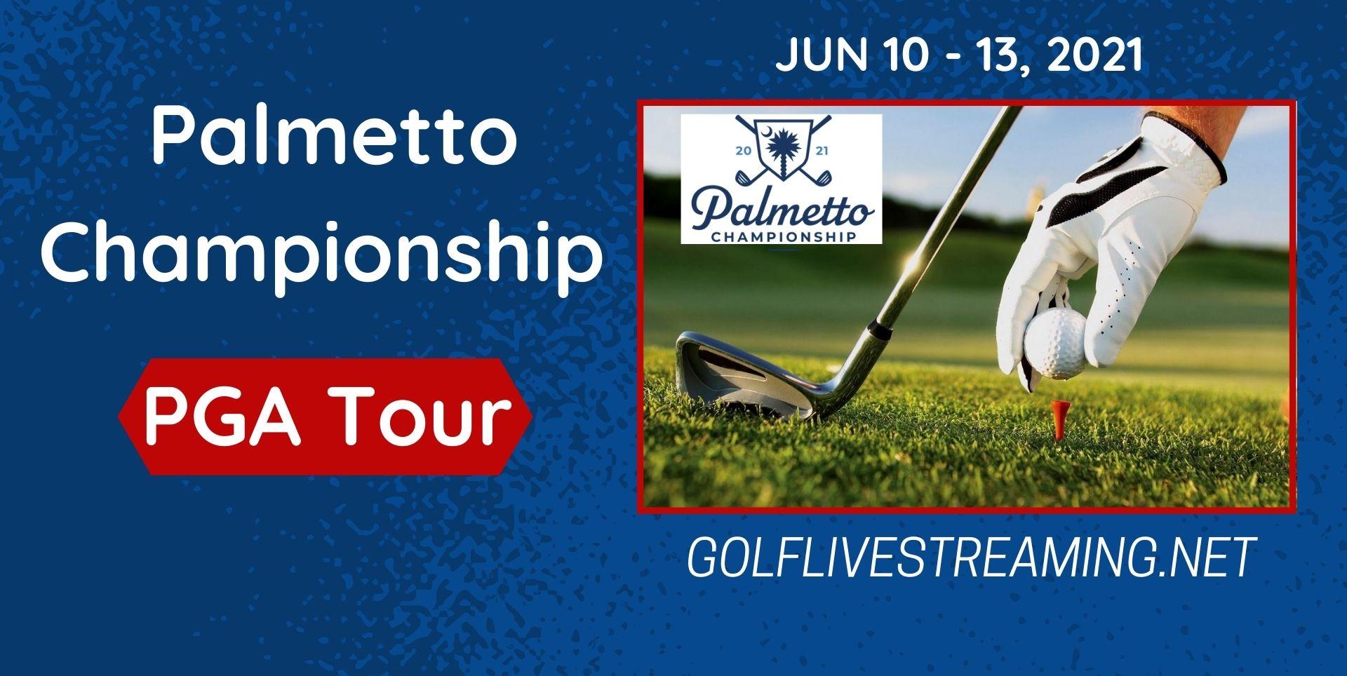 Live Golf Palmetto Championship Stream