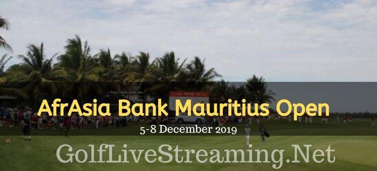 AfrAsia Bank Mauritius Open Round 2 Live Stream