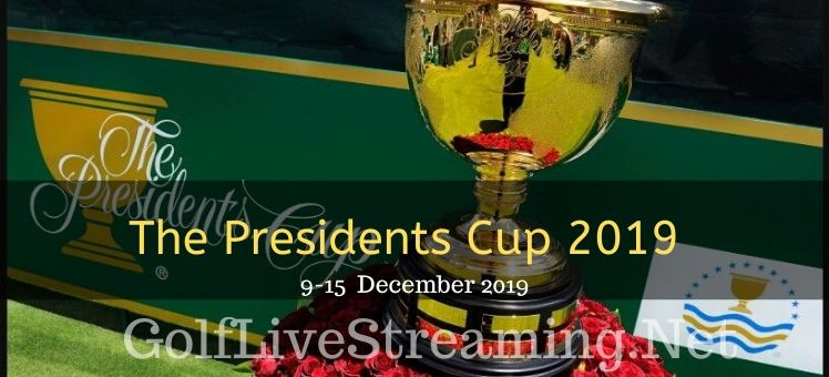 The Presidents Cup  Round 3 Live Stream