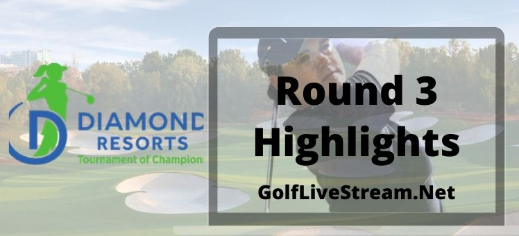 Diamond Resorts Tournament of Champions Rd 3 Highlights 2020
