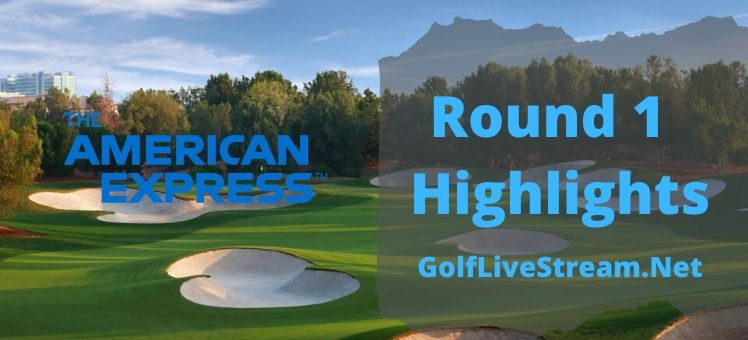 The American Express Rd 1 Highlights 2020