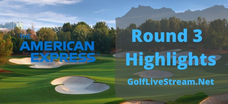 The American Express Rd 3 Highlights 2020