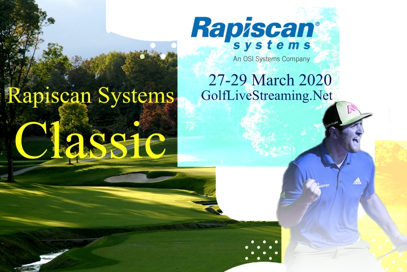 Rapiscan Systems Classic Golf Live Stream | Rd 1