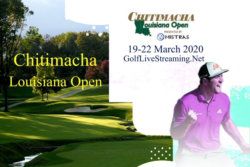 Chitimacha Louisiana Open Live Stream 2020 | Rd 1