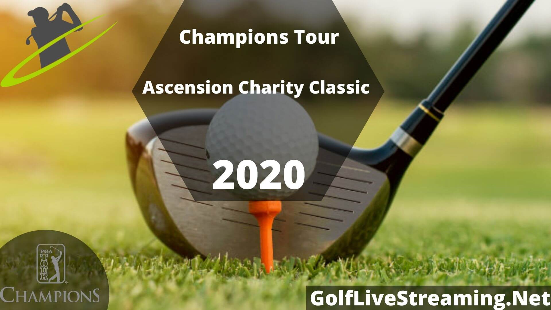 Ascension Charity Classic Live Stream 2020 | Champions Tour Round 1