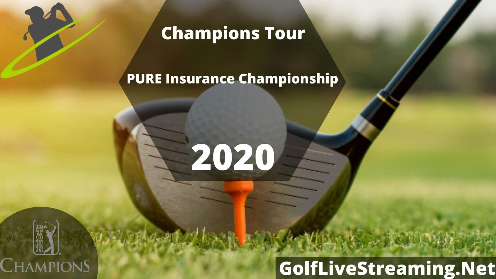 PURE Insurance Championship Live Stream 2020 | Champions Tour Round 2