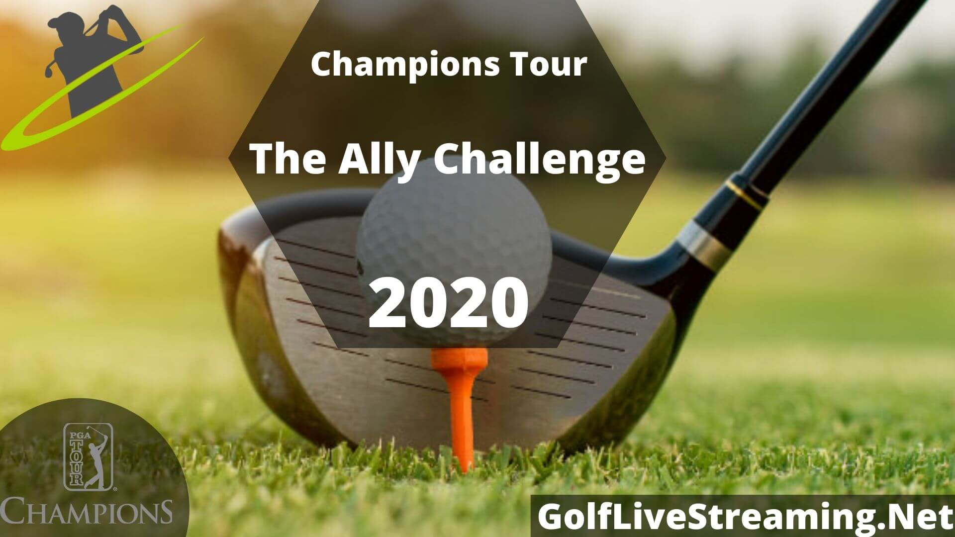 The Ally Challenge Live Stream 2020 | Champions Tour Round 2