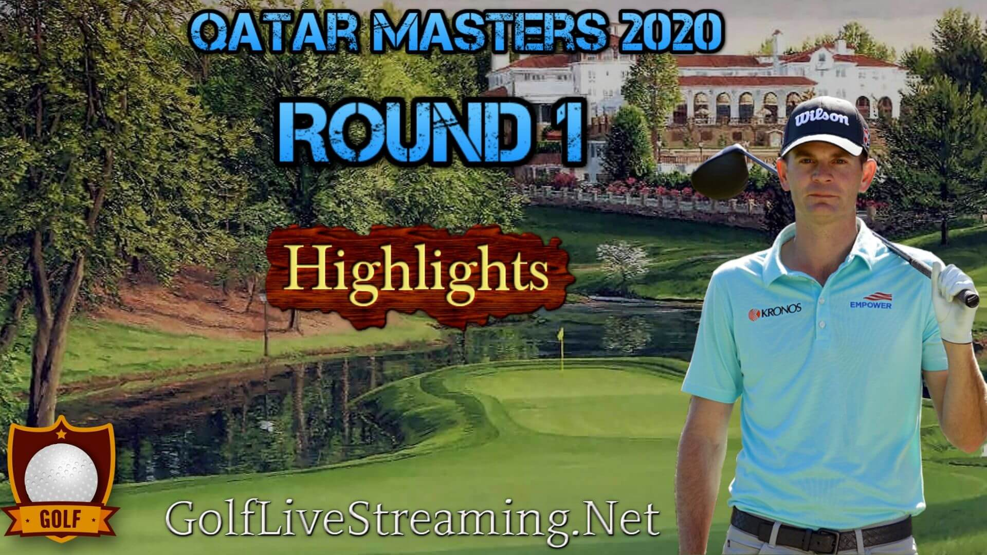 Qatar Masters Rd 1 Highlights 2020