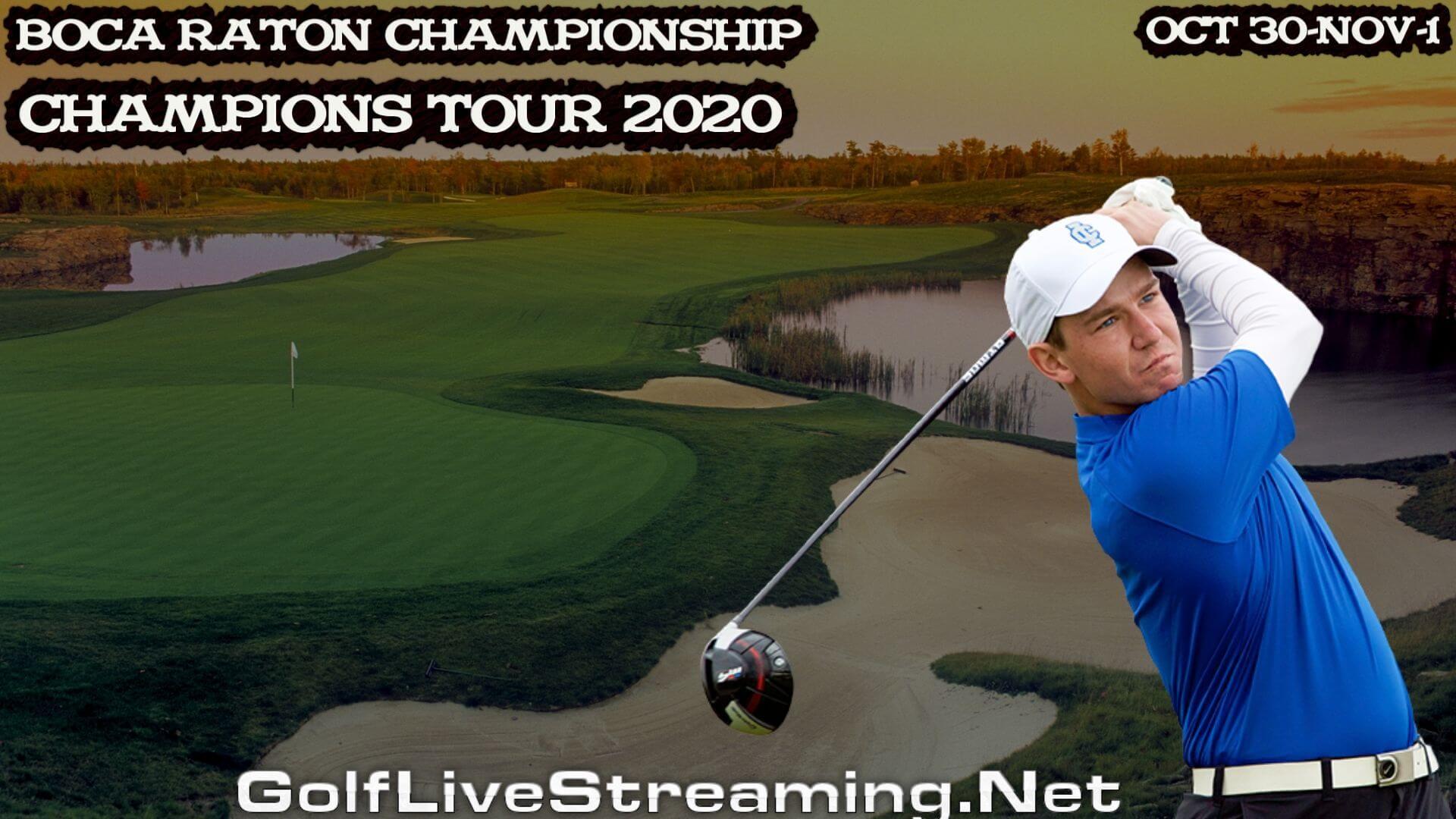 Boca Raton Championship Live Stream 2020   Champions Rd 1