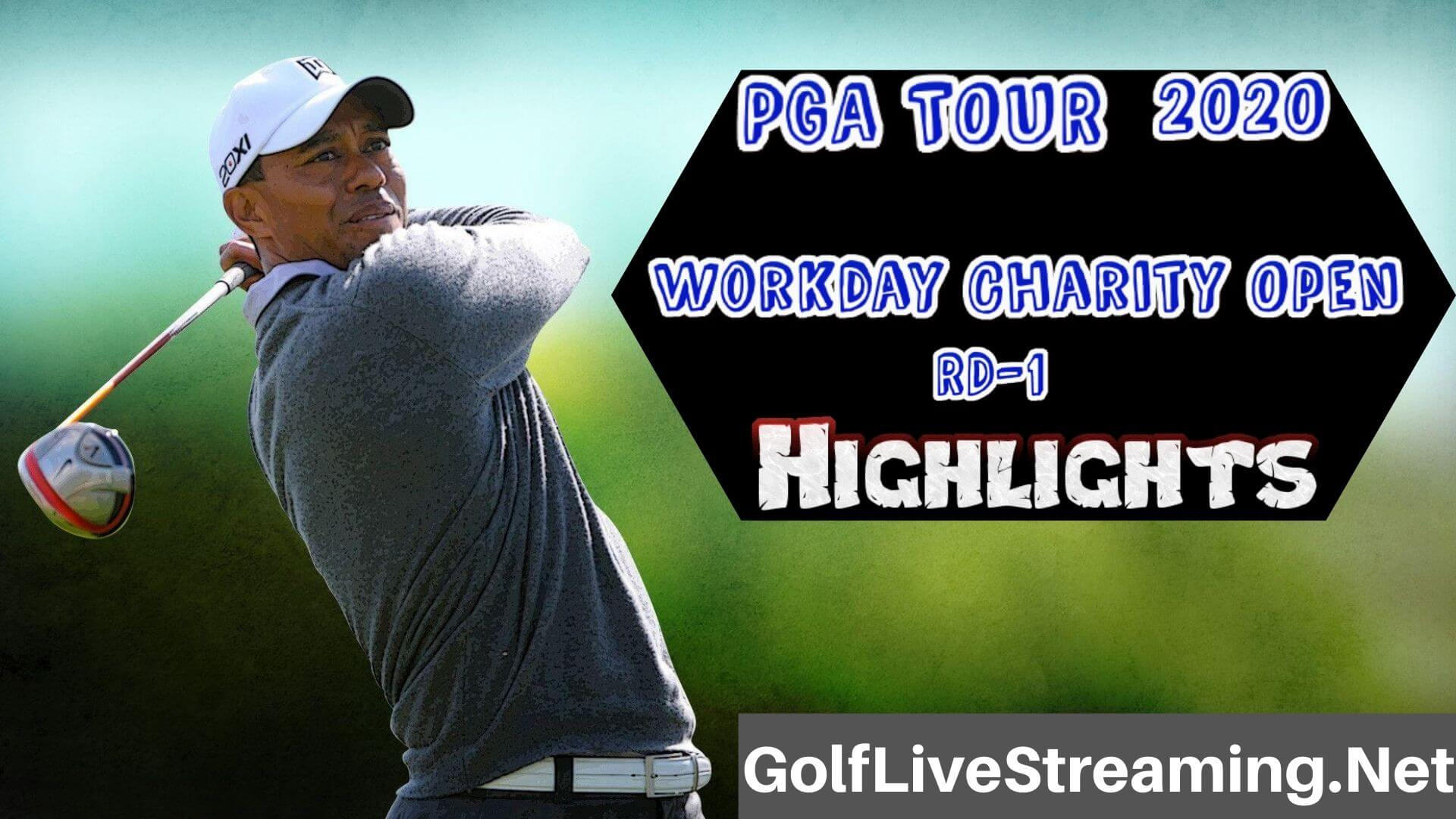 Workday Charity Open Rd 1 Highlights 2020 PGA TOUR