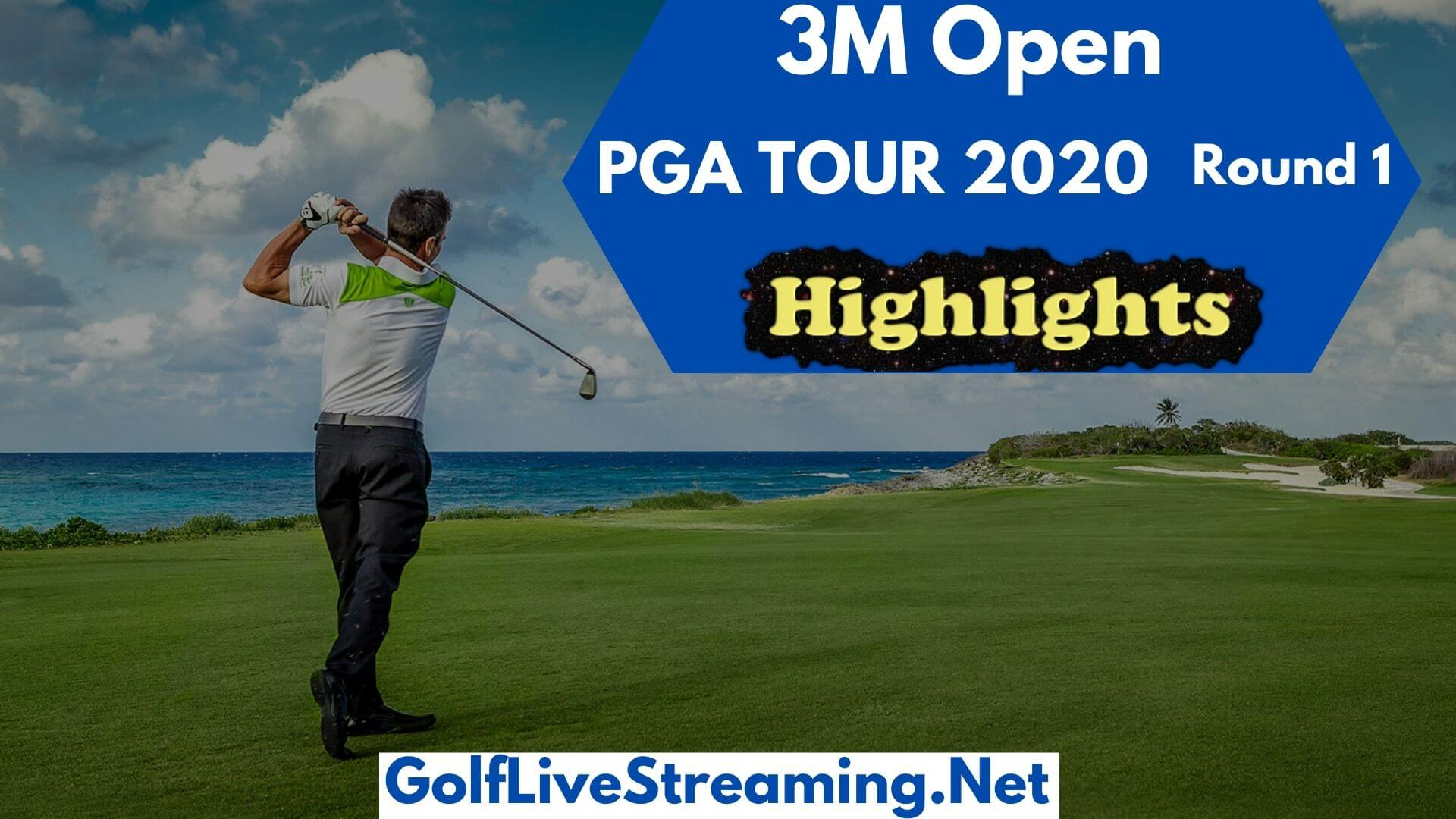 3M Open Rd 1 Highlights 2020 PGA TOUR