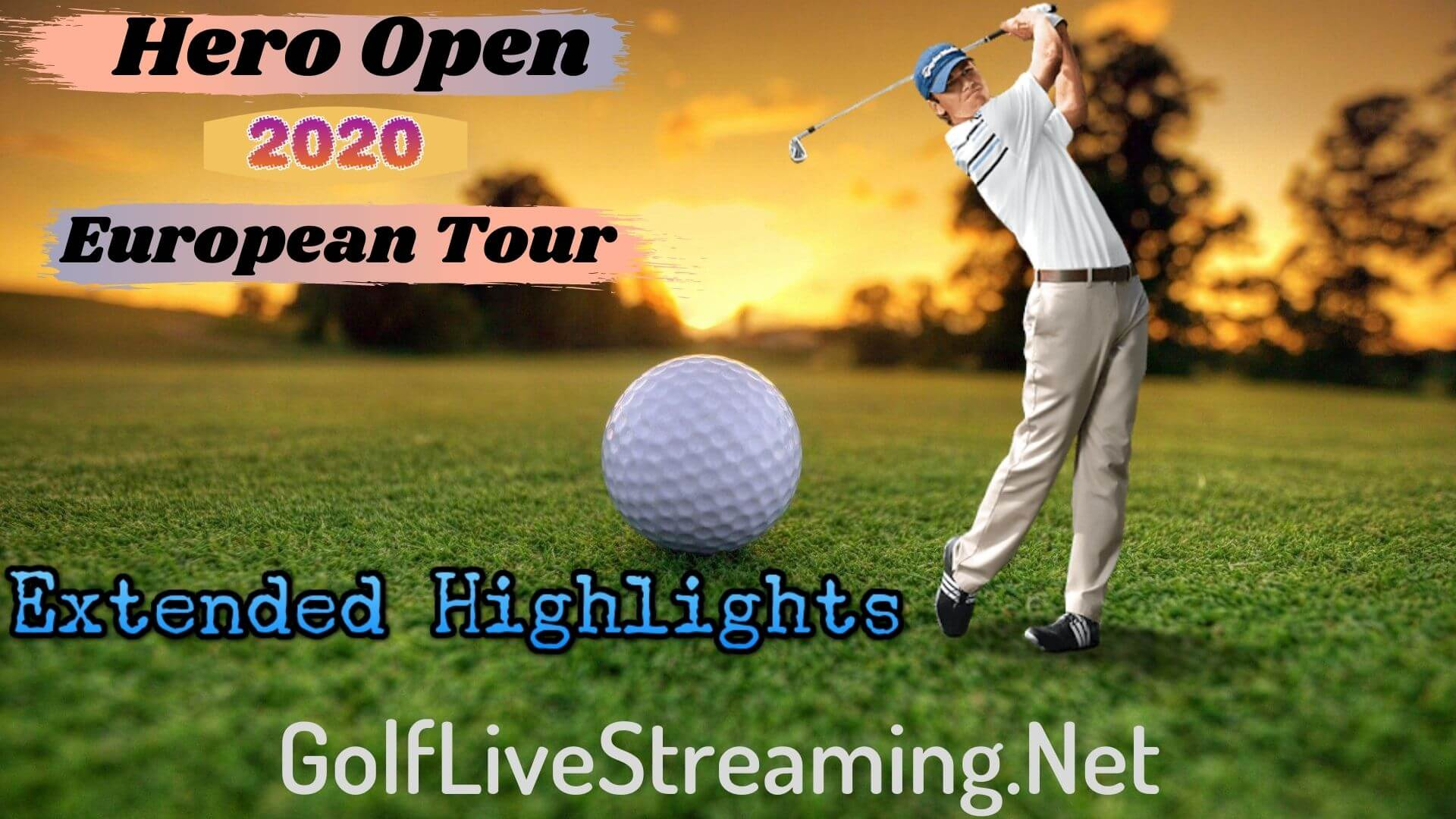 Hero Open Extended Highlights 2020 European Tour