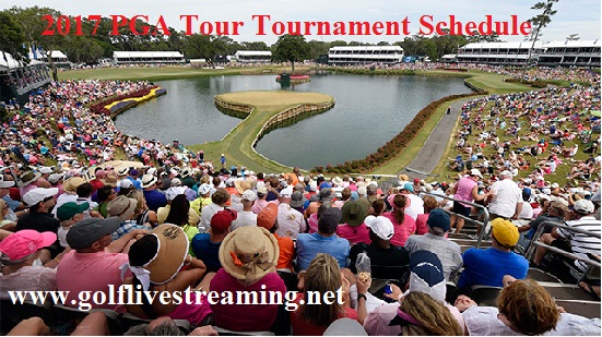 2017 PGA Tour Tournament schedule