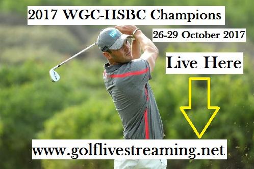 2017 WGC-HSBC Champions