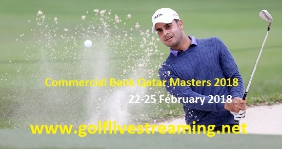 2018 Commercial Bank Qatar Masters Live Stream