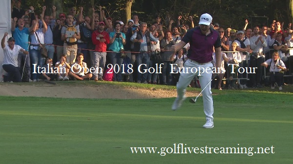 2018 Italian Open Golf Live Stream