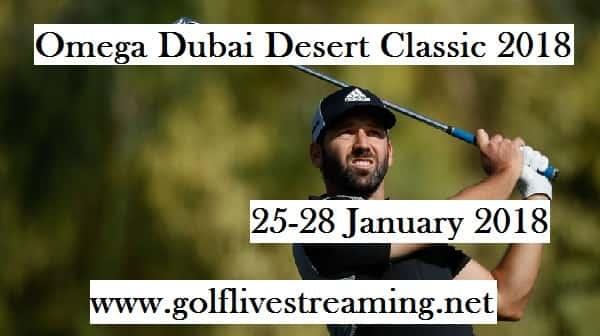 2018 Omega Dubai Desert Classic HD Live