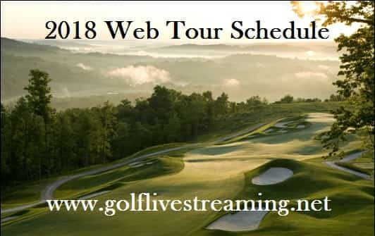 2018 Web Tour Schedule