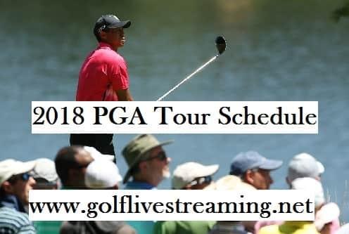 2018 PGA Tour Schedule