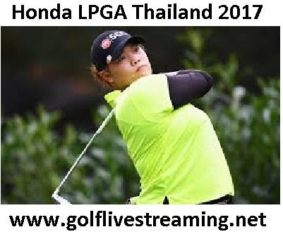 Honda LPGA Thailand 2017 HD Live