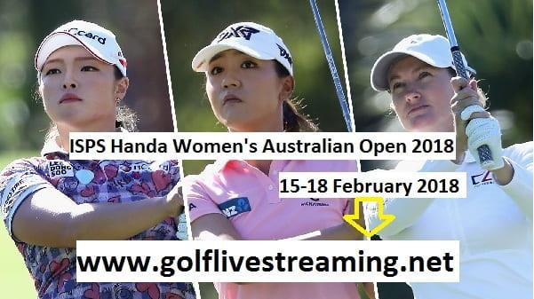 ISPS Handa Womens Australian Open 2018 Live