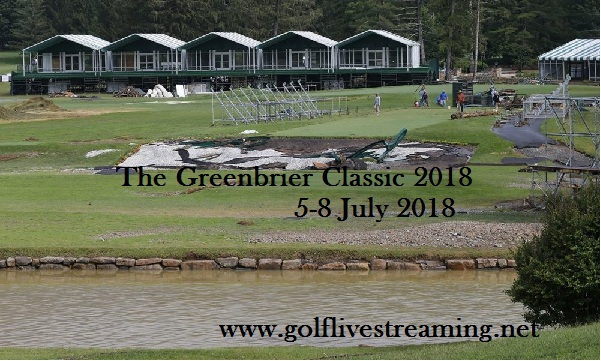 The Greenbrier Classic 2018 Live Stream