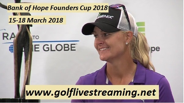 Watch Bank of Hope Founders Cup 2018 Live
