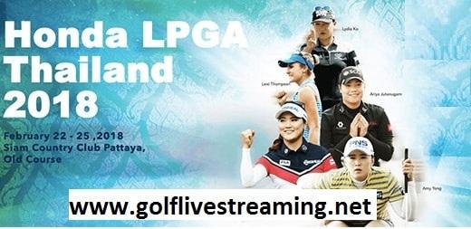 Watch Honda LPGA Thailand 2018 Live