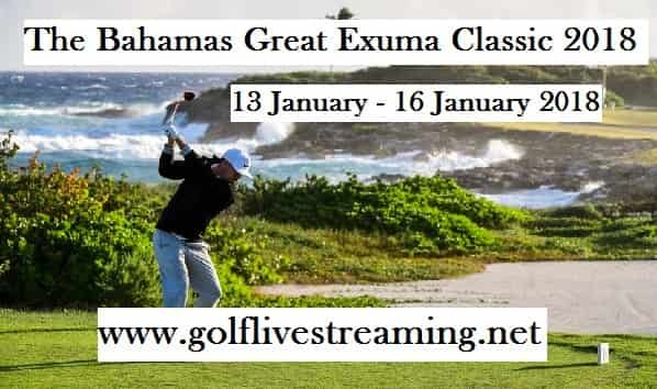 Watch The Bahamas Great Exuma Classic 2018 Live