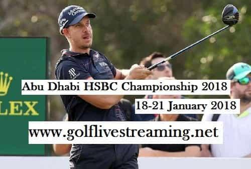 Abu Dhabi HSBC Championship 2018