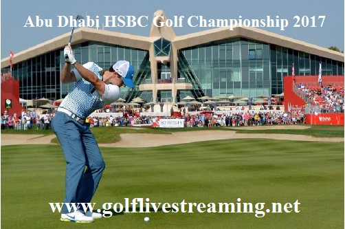 Abu Dhabi HSBC Golf Championship live