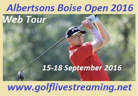Albertsons Boise Open 2016