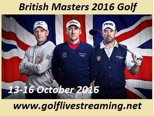 British Masters live