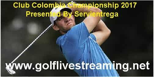 Club Colombia Championship live